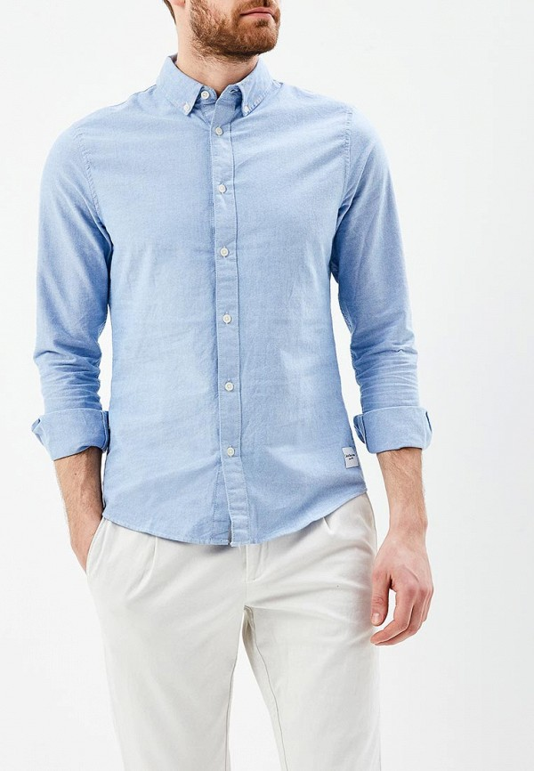 Купить Рубашка Calvin Klein Jeans, CA939EMAPQV4, голубой, Весна-лето 2018