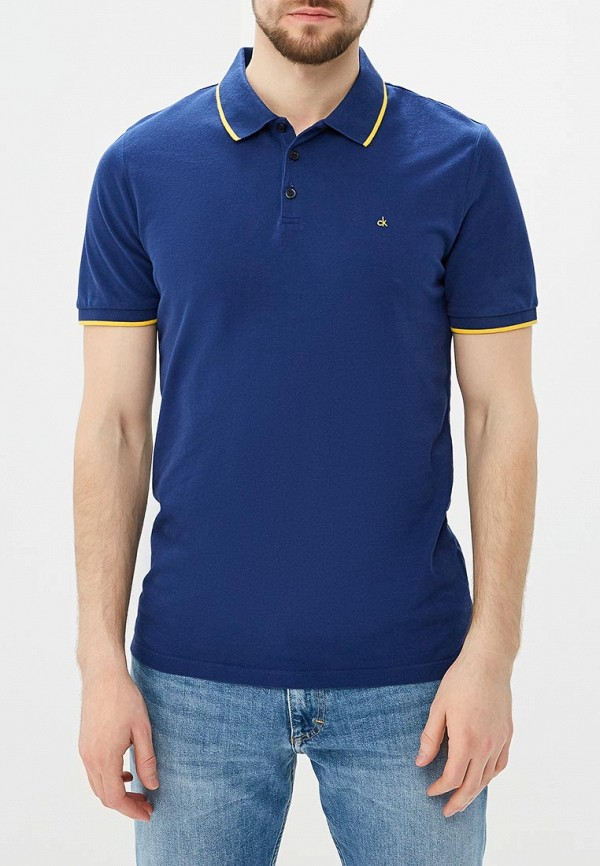 купить Поло Calvin Klein Jeans Calvin Klein Jeans CA939EMAPQV8 по цене 3970 рублей