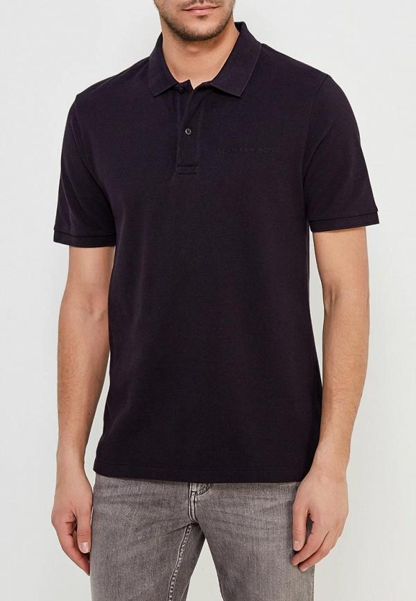 Купить Поло Calvin Klein Jeans, CA939EMAPQW1, черный, Весна-лето 2018