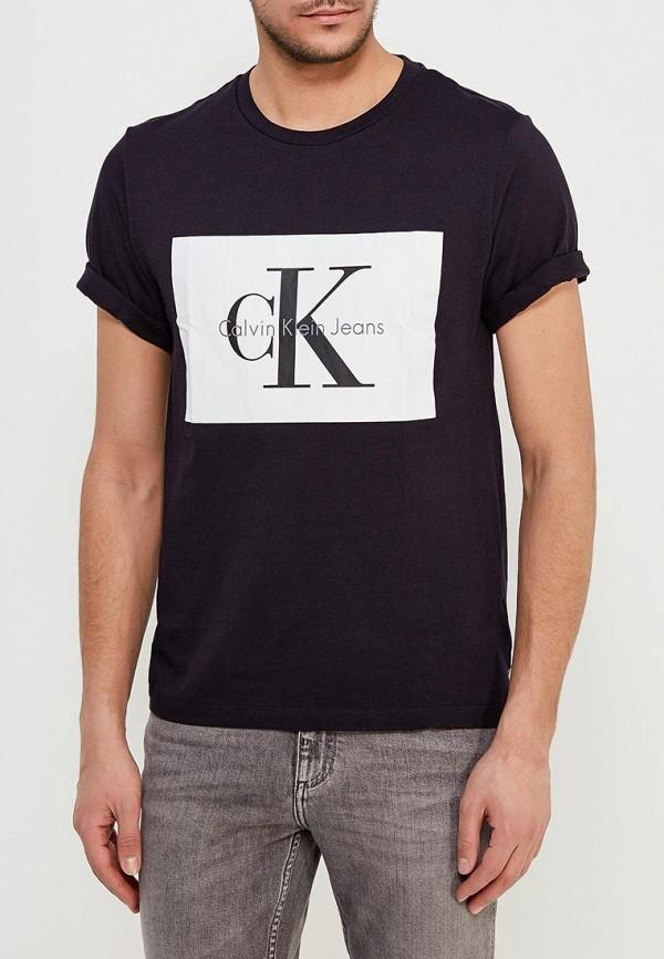 Купить Футболка Calvin Klein Jeans, CA939EMAPQY0, черный, Весна-лето 2018