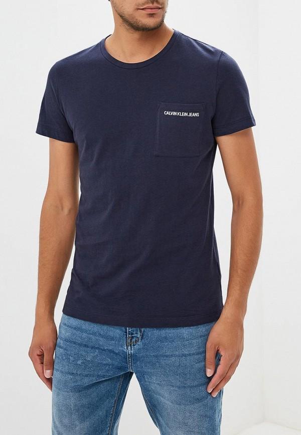 Купить Футболка Calvin Klein Jeans, CA939EMBTHK3, синий, Осень-зима 2018/2019