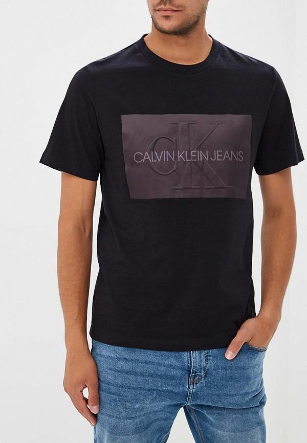 Купить Футболка Calvin Klein Jeans, CA939EMBTHK4, черный, Осень-зима 2018/2019
