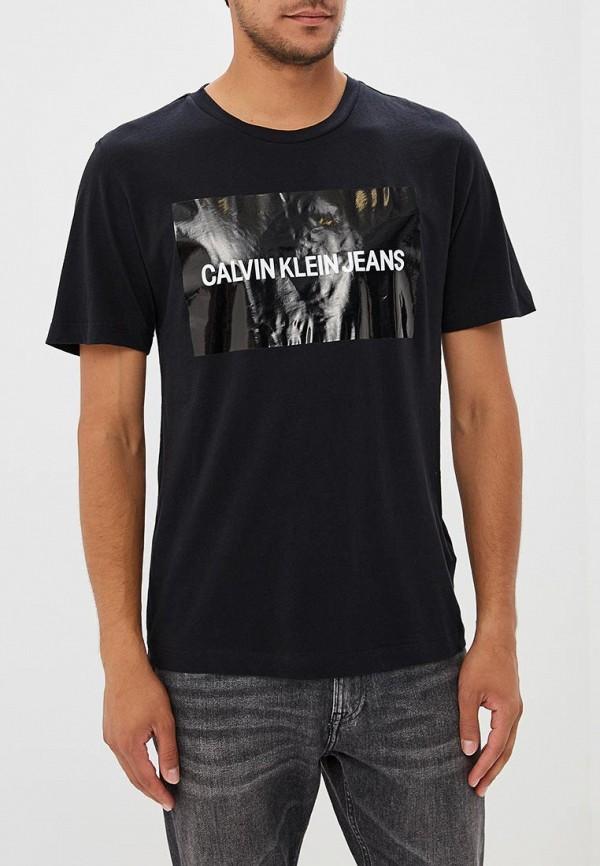 Купить Футболка Calvin Klein Jeans, CA939EMBTHK9, черный, Осень-зима 2018/2019