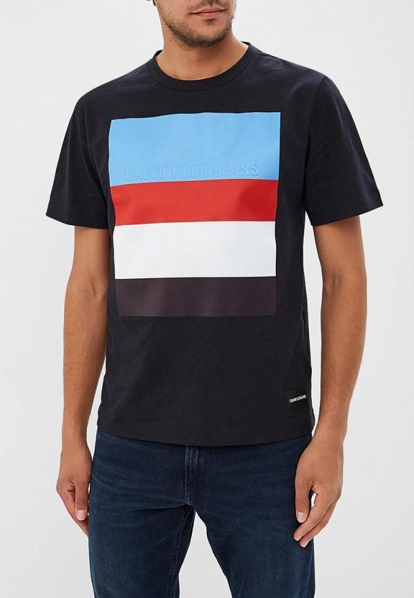 Купить Футболка Calvin Klein Jeans, CA939EMBTHL3, черный, Осень-зима 2018/2019