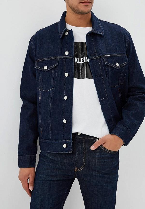 Куртка джинсовая Calvin Klein Jeans Calvin Klein Jeans CA939EMBTHM0 свитшот calvin klein jeans calvin klein jeans ca939ewzjs33