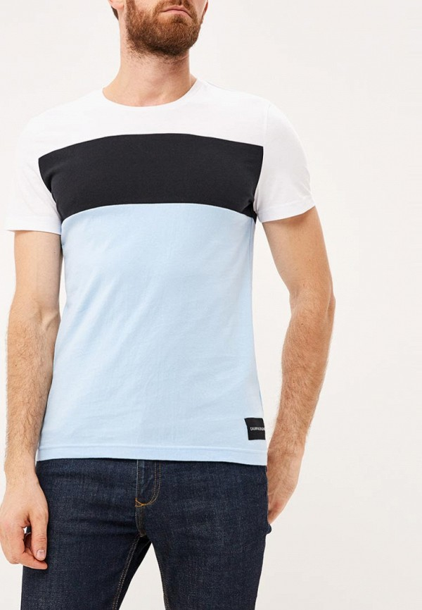 Купить Футболка Calvin Klein Jeans, CA939EMBTJX0, разноцветный, Осень-зима 2018/2019