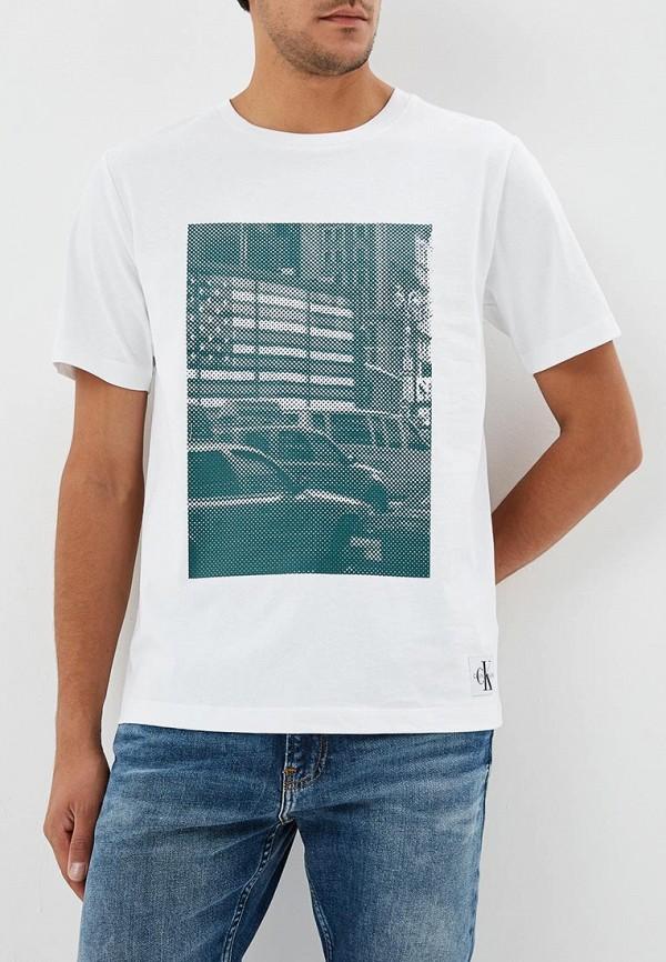 Футболка Calvin Klein Jeans Calvin Klein Jeans CA939EMBTJX2 calvin klein jeans футболка