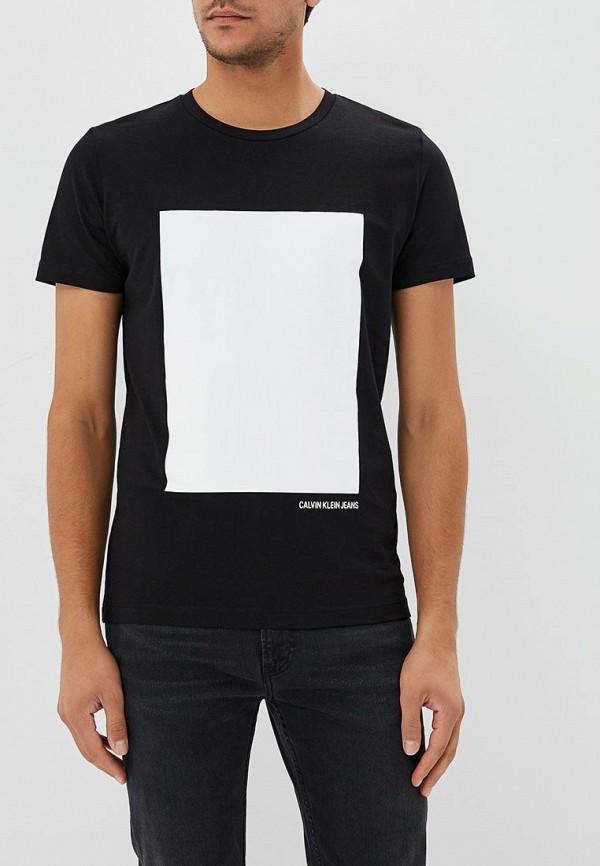 Купить Футболка Calvin Klein Jeans, CA939EMBTJX5, черный, Осень-зима 2018/2019