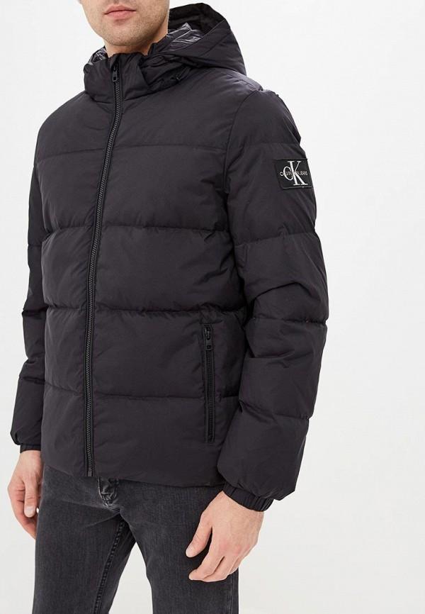 Пуховик Calvin Klein Jeans Calvin Klein Jeans CA939EMBTJY4 calvin klein new white black open front women s 12 textured jacket $149 038