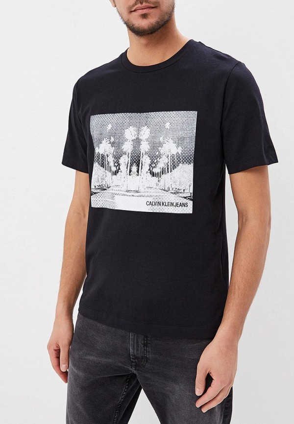 Футболка Calvin Klein Jeans Calvin Klein Jeans CA939EMDUCY1 calvin klein jeans футболка