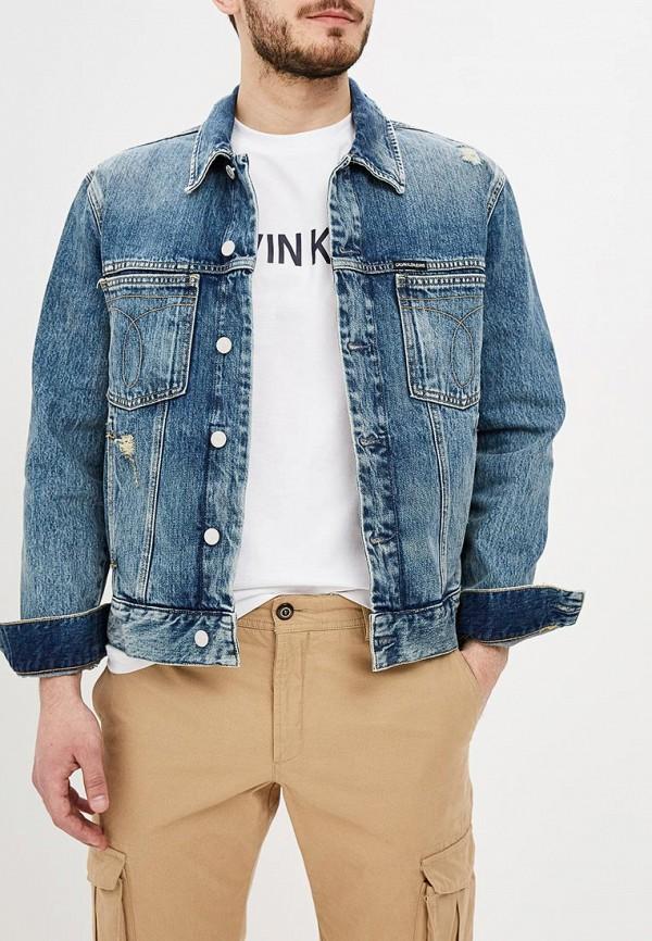 Куртка джинсовая Calvin Klein Jeans Calvin Klein Jeans CA939EMDUCY5
