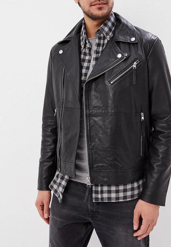 Куртка кожаная Calvin Klein Jeans Calvin Klein Jeans CA939EMDUCZ7 куртка мужская calvin klein jeans цвет черный j30j305565 0990 размер m 44 46