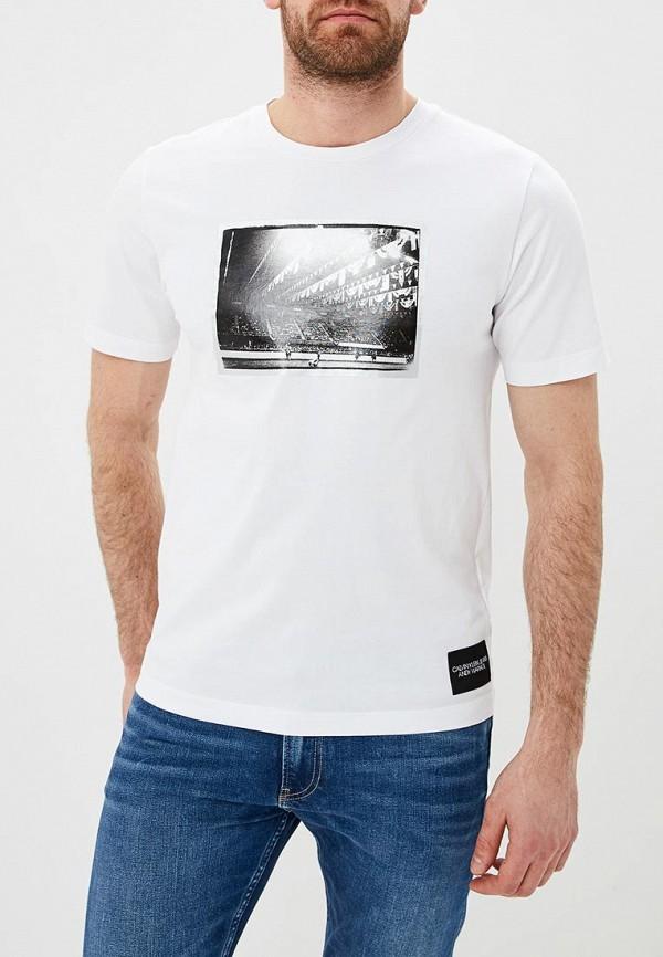 Футболка Calvin Klein Jeans Calvin Klein Jeans CA939EMDUKR5 кошелек calvin klein jeans calvin klein jeans ca939bwapqt1