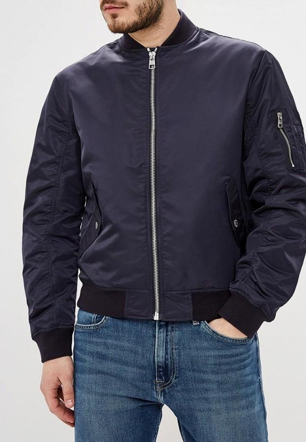 мужская куртка calvin klein, синяя