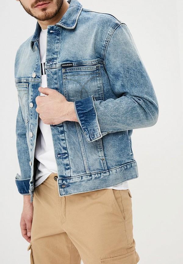 Куртка джинсовая Calvin Klein Jeans Calvin Klein Jeans CA939EMDUKS2