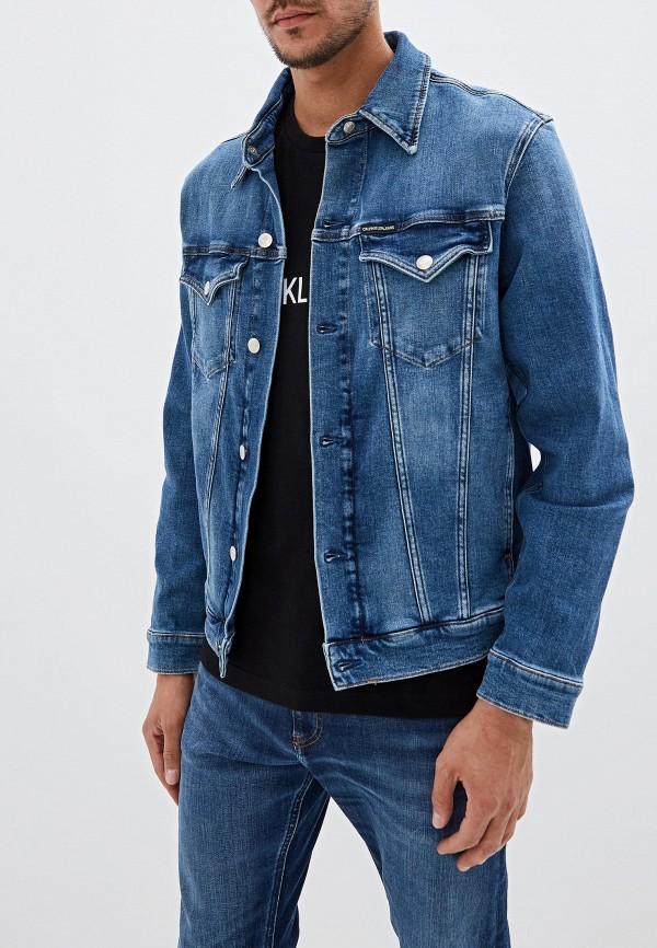 Куртка джинсовая Calvin Klein Jeans Calvin Klein Jeans CA939EMFQWI7