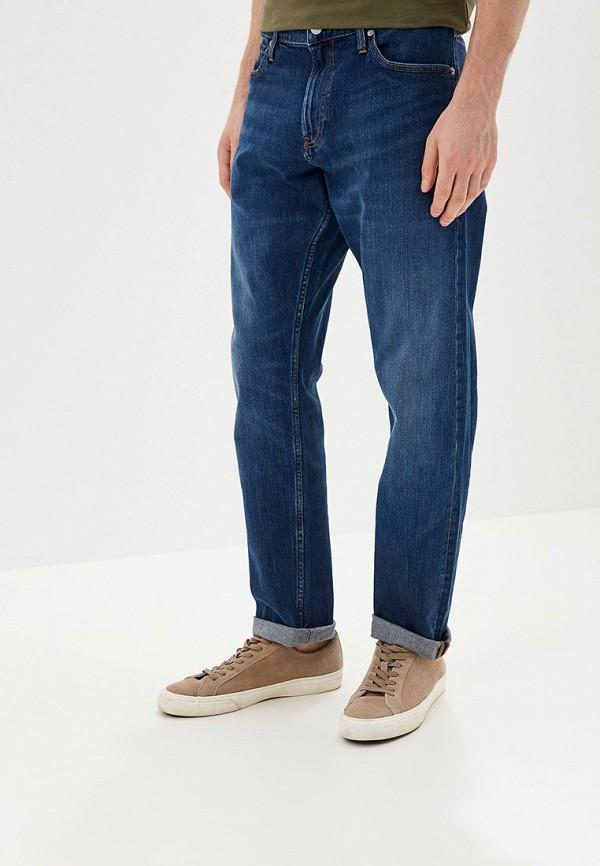 мужские джинсы calvin klein, синие