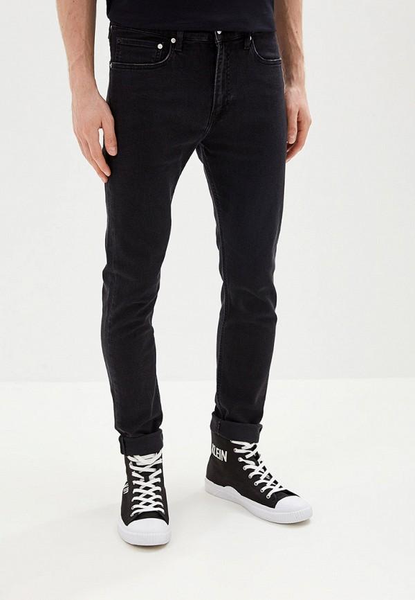 мужские джинсы calvin klein, черные