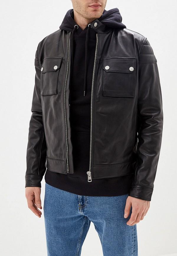 Куртка кожаная Calvin Klein Jeans Calvin Klein Jeans CA939EMFQWL6 куртка мужская calvin klein jeans цвет черный j30j305565 0990 размер m 44 46