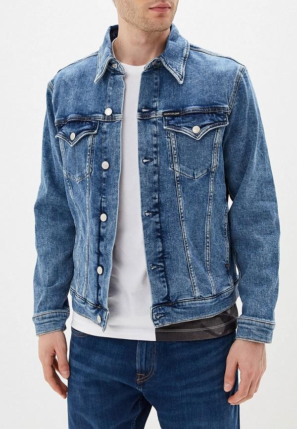 Куртка джинсовая Calvin Klein Jeans Calvin Klein Jeans CA939EMFQWX5 недорго, оригинальная цена