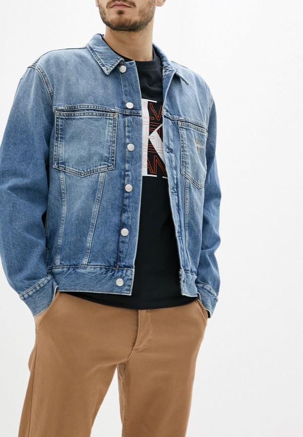 Куртка джинсовая Calvin Klein Jeans Calvin Klein Jeans CA939EMHPZN5 куртка джинсовая calvin klein calvin klein ca105ewegsi9