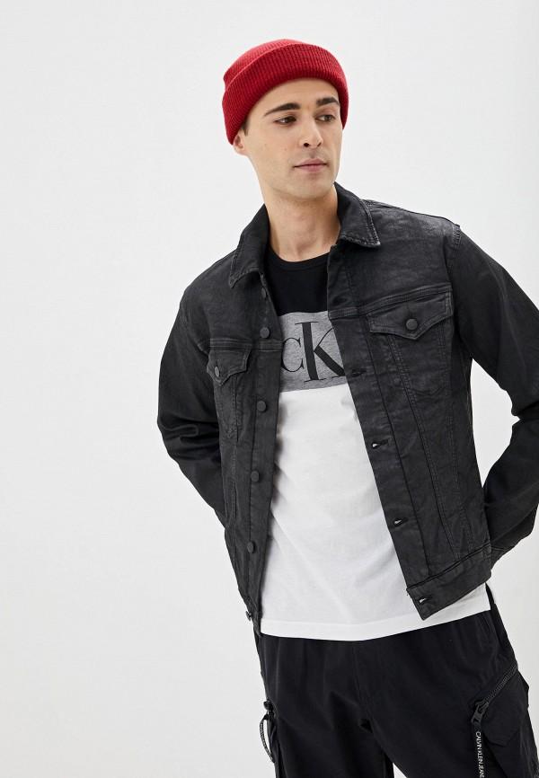 Куртка джинсовая Calvin Klein Jeans Calvin Klein Jeans CA939EMHPZN6 цены онлайн