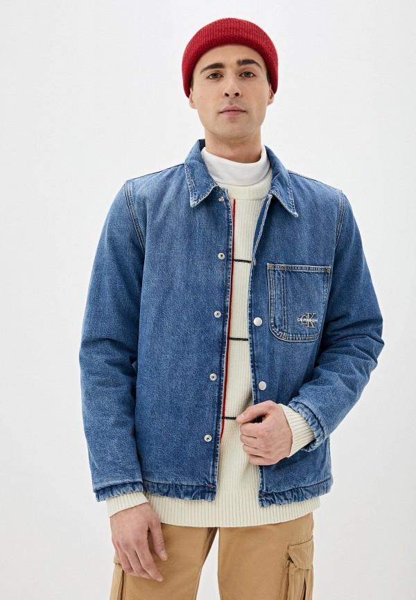 Куртка джинсовая Calvin Klein Jeans Calvin Klein Jeans CA939EMHPZN7 куртка джинсовая calvin klein calvin klein ca105ewegsi9