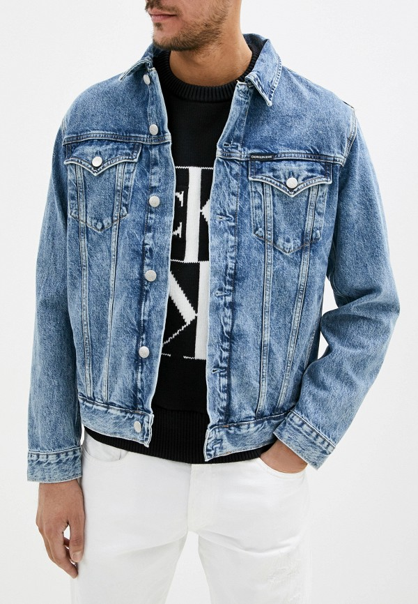 Куртка джинсовая Calvin Klein Jeans Calvin Klein Jeans CA939EMHPZN9 куртка джинсовая calvin klein calvin klein ca105ewegsi9