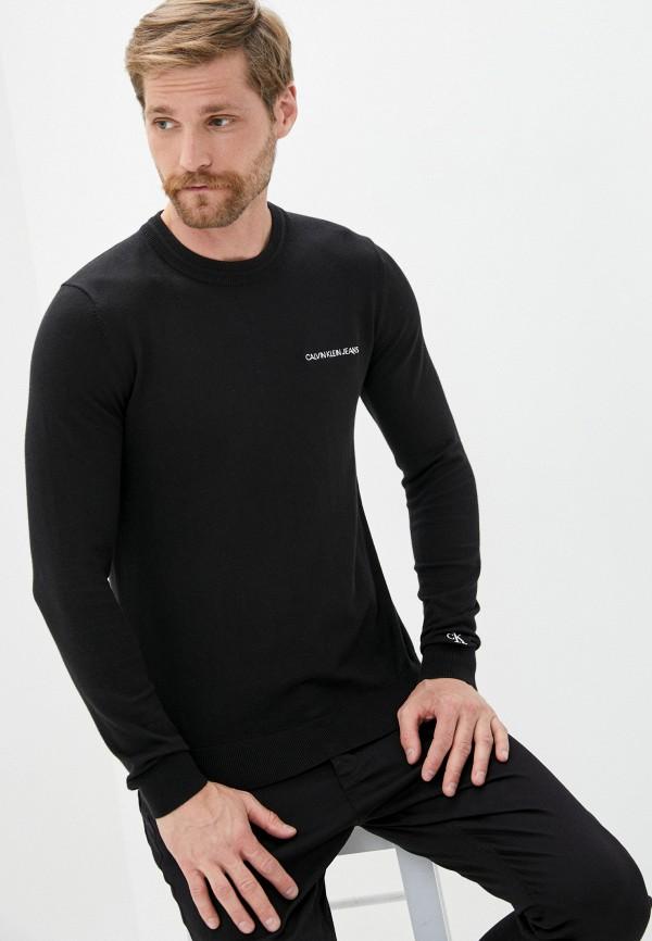 мужской джемпер calvin klein, черный