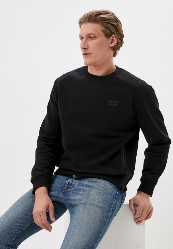 мужской свитшот calvin klein, черный