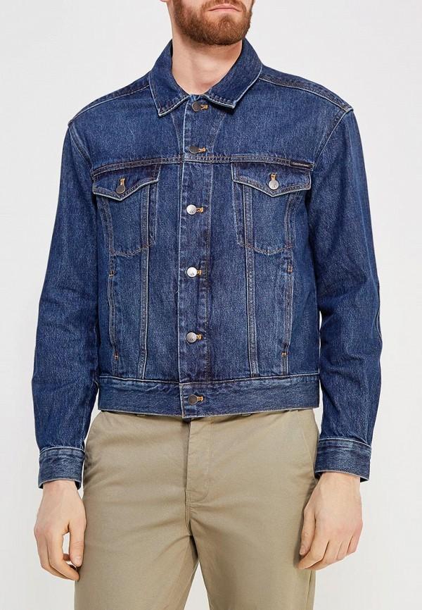 Купить Куртка джинсовая Calvin Klein Jeans, CA939EMZJT01, синий, Весна-лето 2018