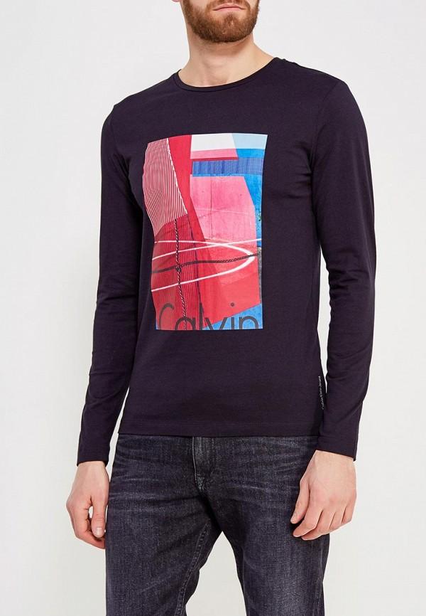 Купить Лонгслив Calvin Klein Jeans, CA939EMZJT18, черный, Весна-лето 2018
