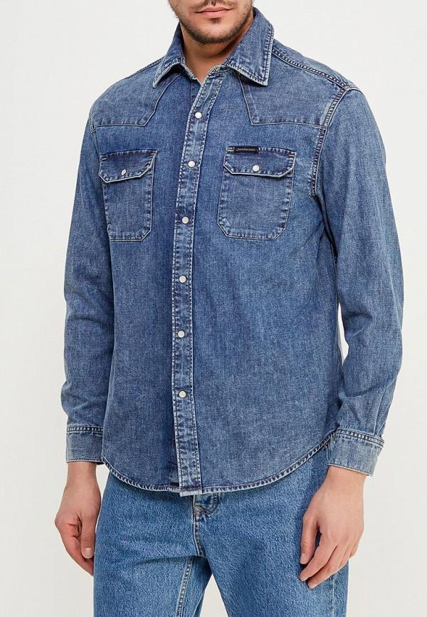 Рубашка джинсовая Calvin Klein Jeans Calvin Klein Jeans CA939EMZJV36 рубашка calvin klein jeans j20j2 06431 1120