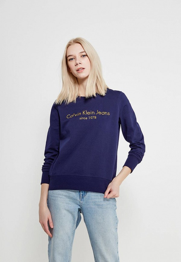 Свитшот Calvin Klein Jeans Calvin Klein Jeans CA939EWAQIG8 свитшот calvin klein jeans calvin klein jeans ca939ewzjs76