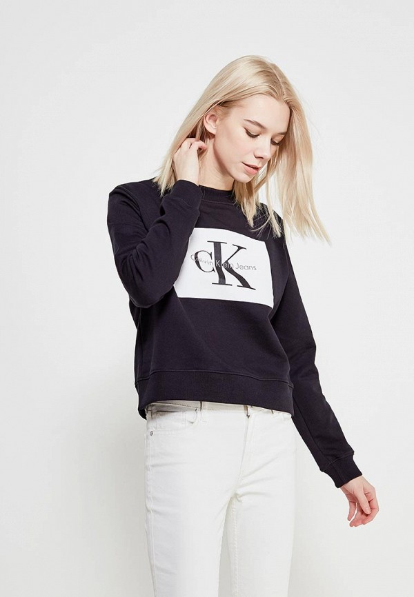 Свитшот Calvin Klein Jeans Calvin Klein Jeans CA939EWAQIG9 свитшот calvin klein jeans calvin klein jeans ca939ewaups4
