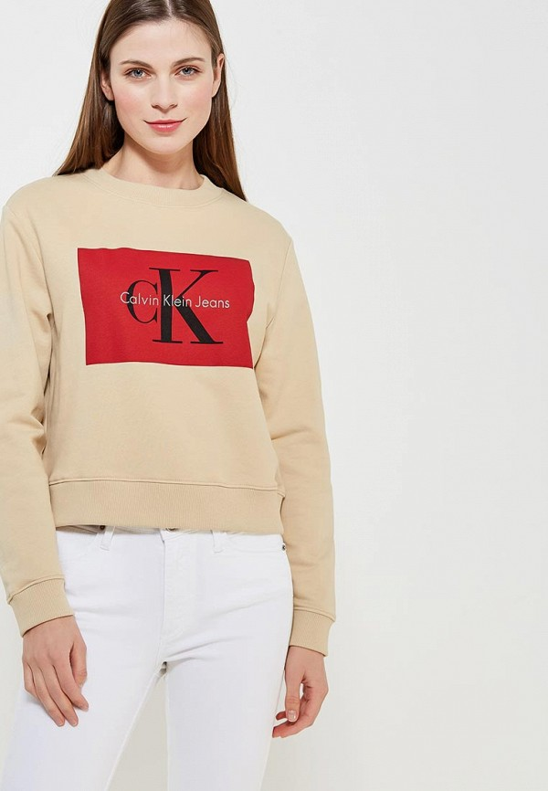 Свитшот Calvin Klein Jeans Calvin Klein Jeans CA939EWAQIH0 свитшот calvin klein jeans calvin klein jeans ca939emzjv33