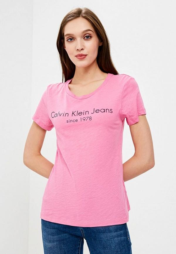 Футболка Calvin Klein Jeans Calvin Klein Jeans CA939EWAQIK6 все цены