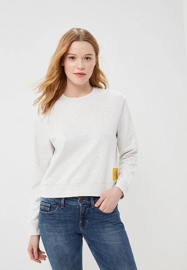 купить Свитшот Calvin Klein Jeans Calvin Klein Jeans CA939EWAUPS3 по цене 4870 рублей