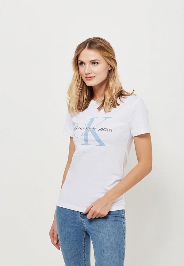 Футболка Calvin Klein Jeans Calvin Klein Jeans CA939EWAUPS8 футболка calvin klein jeans calvin klein jeans ca939ewaqij7
