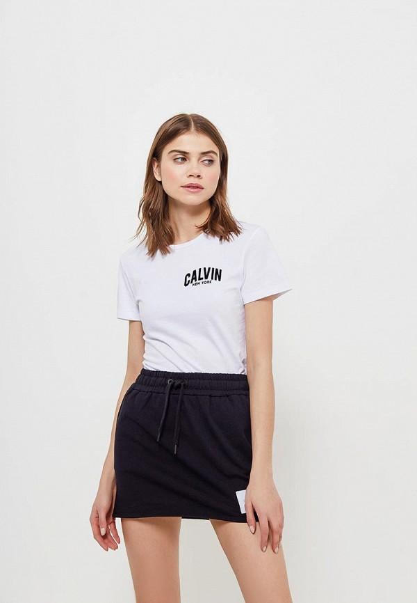 Купить Футболка Calvin Klein Jeans, CA939EWAUPT1, белый, Весна-лето 2018