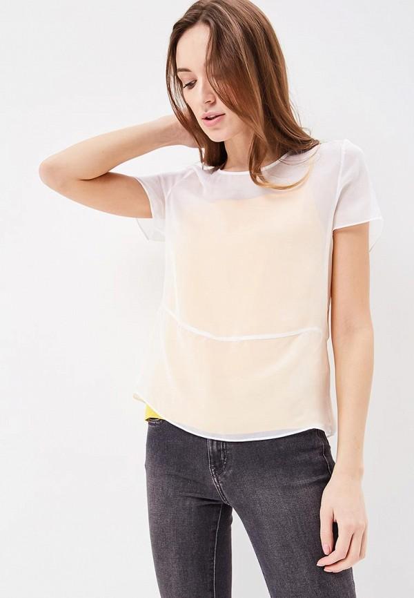 Купить Блуза Calvin Klein Jeans, CA939EWBCAW1, белый, Весна-лето 2018
