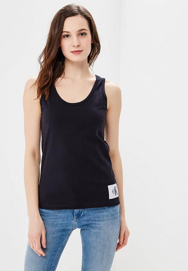 Купить Майка Calvin Klein Jeans, CA939EWBCAX6, черный, Весна-лето 2018
