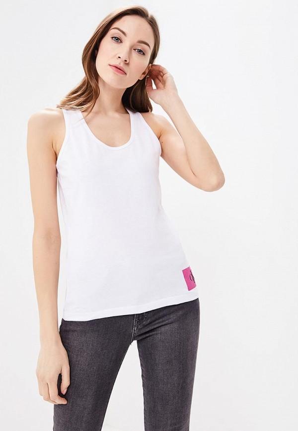 Купить Майка Calvin Klein Jeans, CA939EWBCAX7, белый, Весна-лето 2018