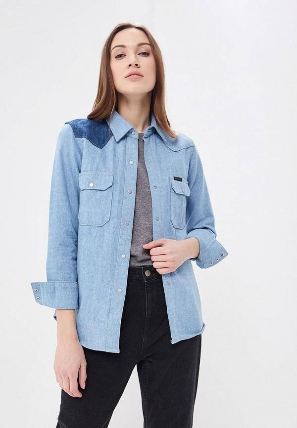 Рубашка джинсовая Calvin Klein Jeans Calvin Klein Jeans CA939EWBCAY6 calvin klein jeans mid rise skinny