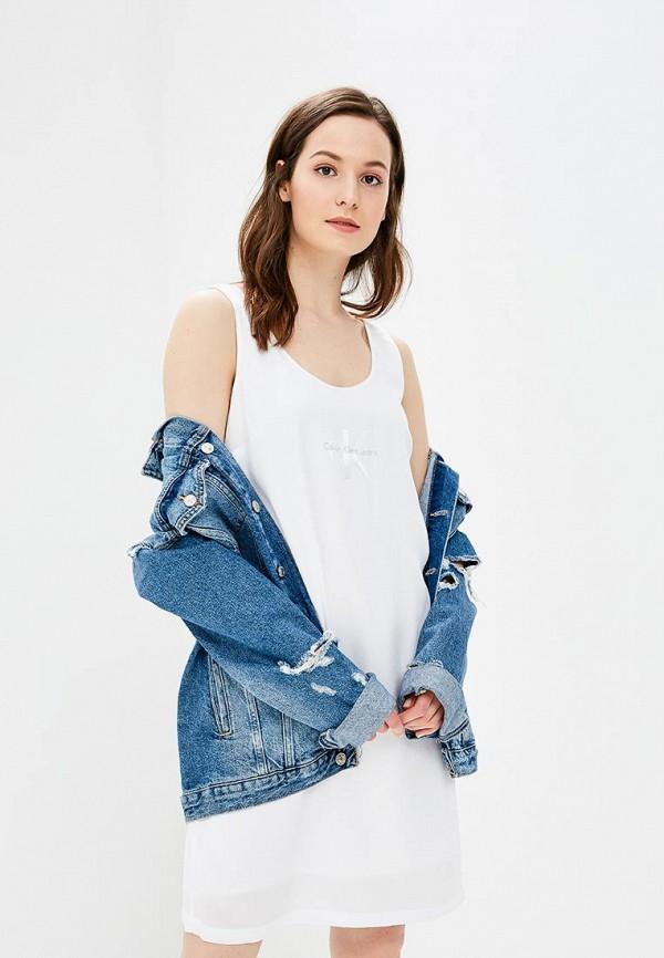 Платье Calvin Klein Jeans Calvin Klein Jeans CA939EWBQJE1 платья calvin klein платье