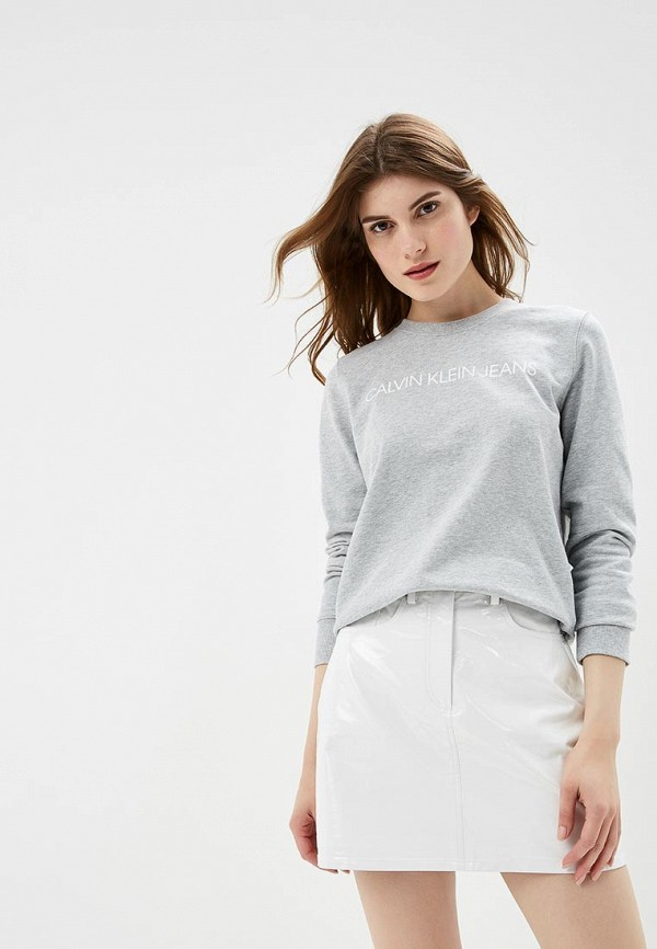 Свитшот Calvin Klein Jeans Calvin Klein Jeans CA939EWBTHO3 свитшот calvin klein jeans calvin klein jeans ca939ewaups5