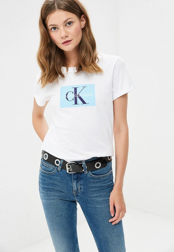 Футболка Calvin Klein Jeans Calvin Klein Jeans CA939EWBTHP4 все цены