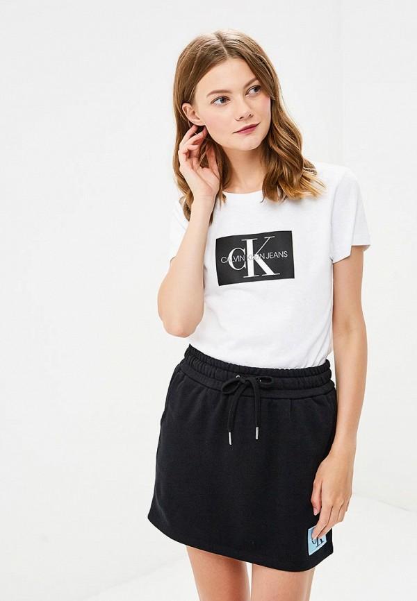 Футболка Calvin Klein Jeans Calvin Klein Jeans CA939EWBTHP6 calvin klein jeans футболка