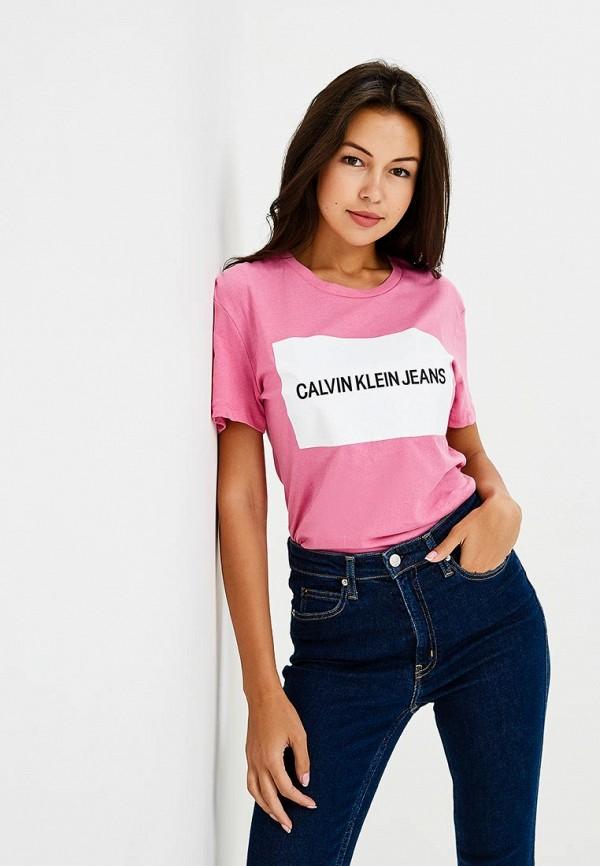Футболка Calvin Klein Jeans Calvin Klein Jeans CA939EWBTHQ1 все цены