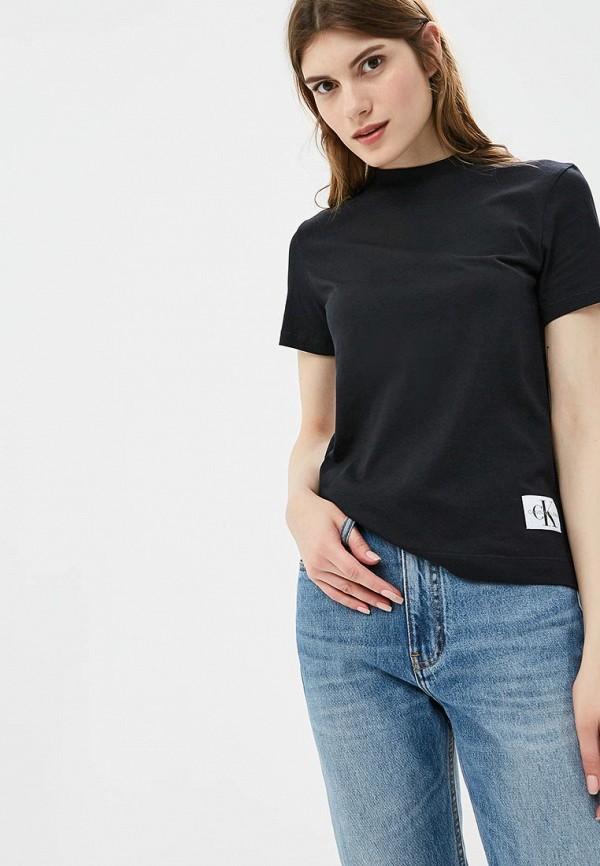 Футболка Calvin Klein Jeans Calvin Klein Jeans CA939EWBTHQ6 свитшот calvin klein jeans calvin klein jeans ca939ewzjs33
